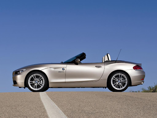 BMW Z4 Roadster Side View