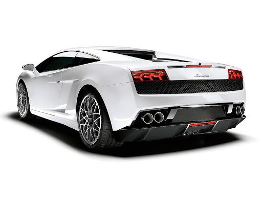 Lamborghini Gallardo LP560-4 Rear View