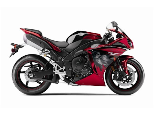 Yamaha YZF R1 Red