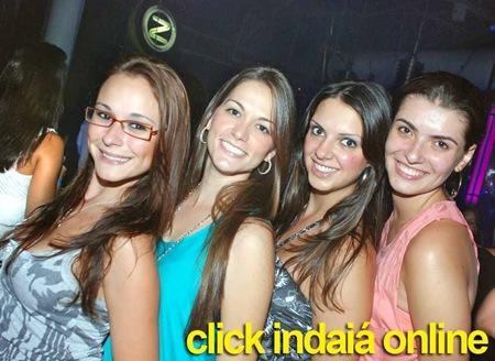 Maira, Camila, Jana e Rosane na Pista da Zoff Club (Crédito: Eduardo Turati)