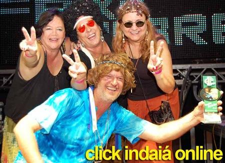 Os Hippies levaram o prêmio de Bloco mais Animado (Crédito: Fábio Alexandre 19-88660900)