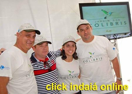 O gestor de marketing Jair Italiani, o proprietário Durval Sombini Filho, a gestora de projetos Natália Merle e o gestor de obras Tarcísio Viegas (Crédito: Fábio Alexandre)