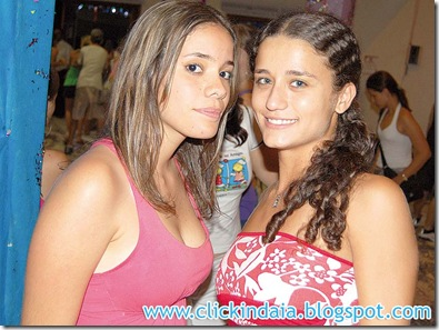 As amigas Marcella e Elisa (Crédito: Fábio Alexandre)