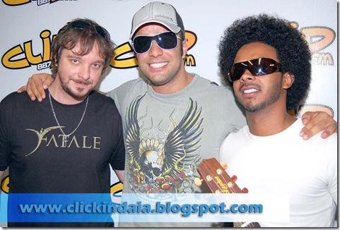 Adriano Gaeta, Nando Gabriel e Jesse James (Crédito: Fábio Alexandre)