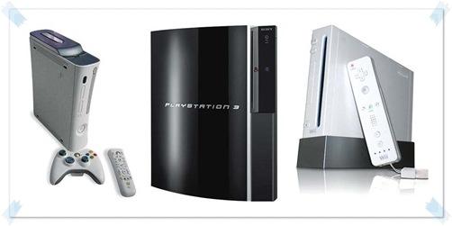 Nintendo Wii vs Playstation 3 vs Xbox 360
