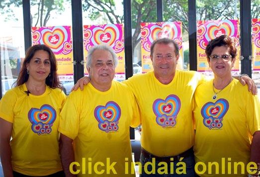 Elaine, Celino, Gentil e Marisa na coletiva do Fran's Café (Crédito: Maurício Branzani)