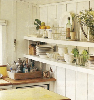 Country Living - Shelves and Wainscotting