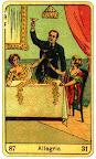 sprirale annuelle avec les sibilla della zingara Allegria