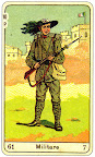 sprirale annuelle avec les sibilla della zingara Militare