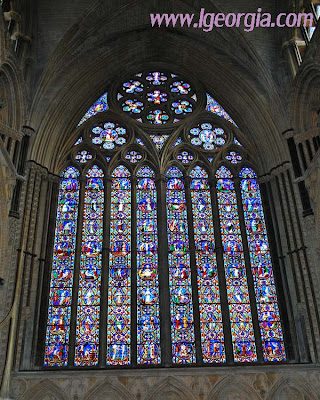 Stained Glass - Lincoln Cathedral