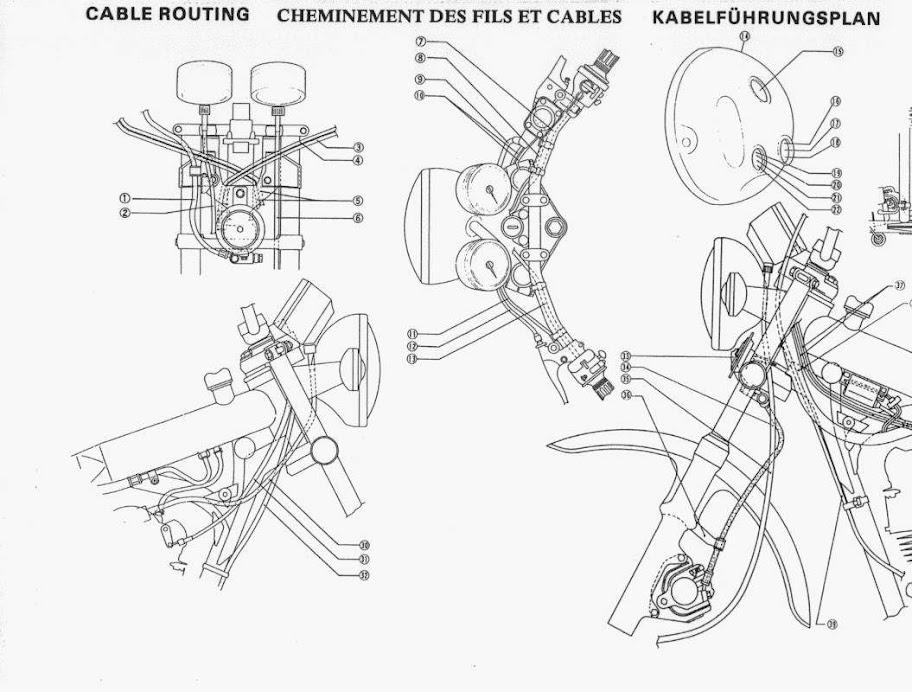 1979 yamaha xt500 project  vtxt500