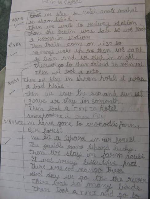 We went to Gujarat : A 6-year old writes on Ghumakkar!
