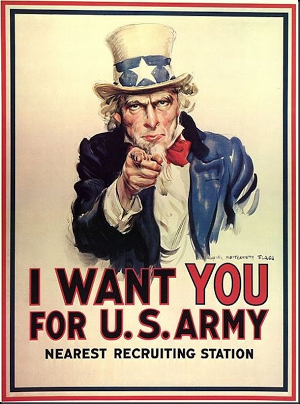 James_Montgomery_Flagg_Uncle_Sam_recruitment_poster