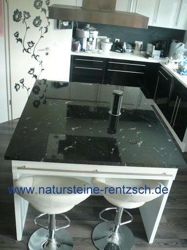 k chenplatte arbeitsplatte platte granit schwarz weiss eur 199 00 picclick de. Black Bedroom Furniture Sets. Home Design Ideas