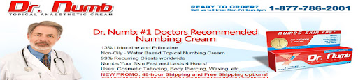 Numbing Cream Tube