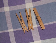 1960-1970's Clothes Pegs