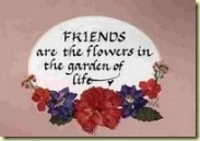 Friendship of flowers award