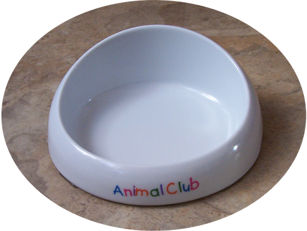 Feeding bowl for cats