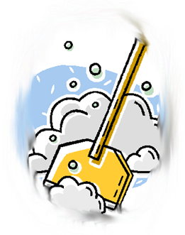 Snow shovel - png