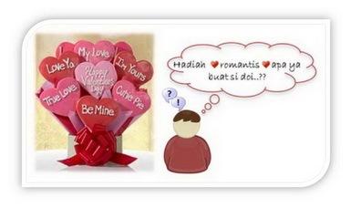 Kado valentine 2009, hadiah valentine, ide valentine, kado spesial valentine, hadiah romantis