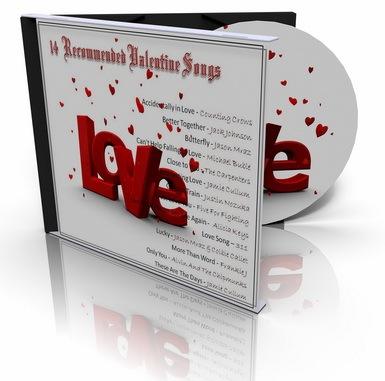 Valentine love songs, lagu romantis, kado valentine, hadiah valentine, mp3 valentine