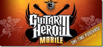 guitar hero III, java game, symbian, sony ericsson