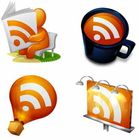 Gorgeous RSS icons