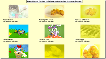 Free Easter Holidays animated desktop wallpaper_1269806522986