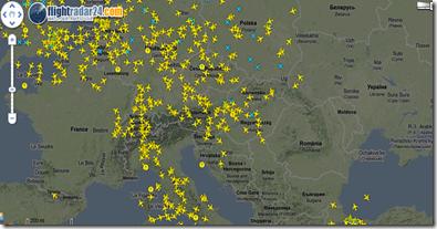 mapa avioane