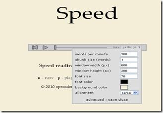 Free online speed reading software - Spreeder.com_1274907007133