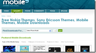 Free Nokia Themes, Sony Ericsson Themes, Mobile Themes, Mobile Downloads - mobile9_1275687545293