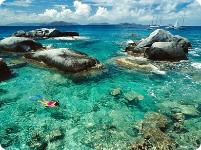 Snorkeling the Baths, British Virgin Islands