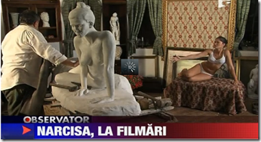 Narcisa, goala pentru filmari - Monden - Observator Antena1_1284986570024