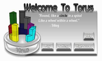 tetris 3D-torus