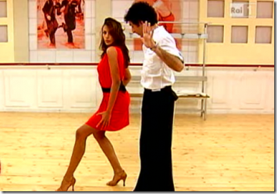 Madalina Ghenea - Ballando con le stelle 2011