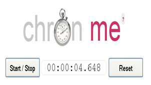 Online Stopwatch - Cronometru