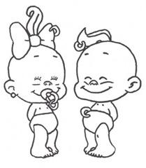 imagini de colorat cu copii