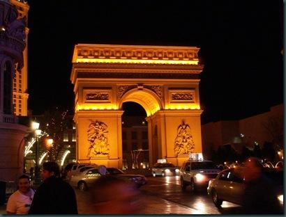 Arc de Triomphe Las Vegas