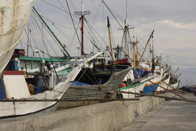 Port drewniany