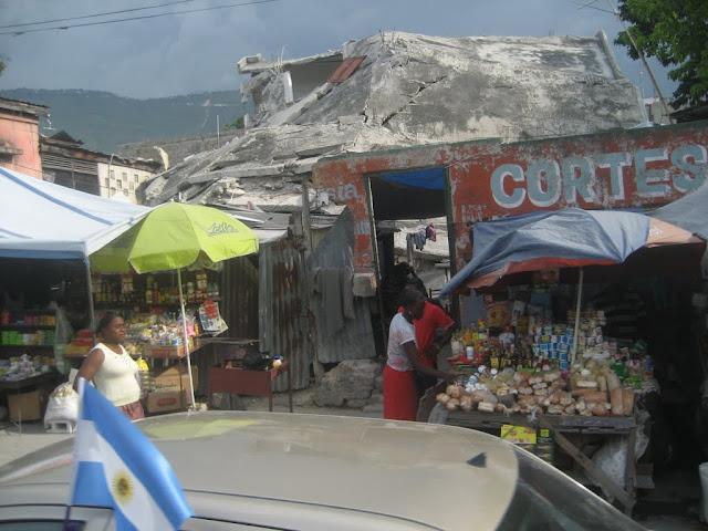 Domki w Haiti