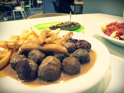 Ikea meal