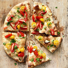 Fresh Tomato Basil Pizza
