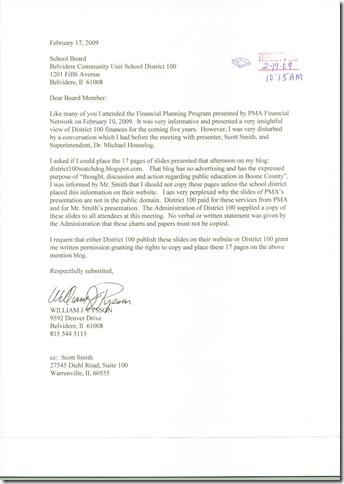 Bd Letter