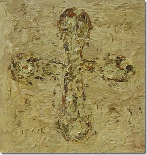 One of Melissa's crosses from an early seriesIMG_6555