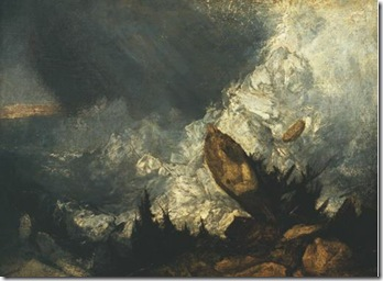 Turner- The Fall of an Avalanche in the Grisons 1810