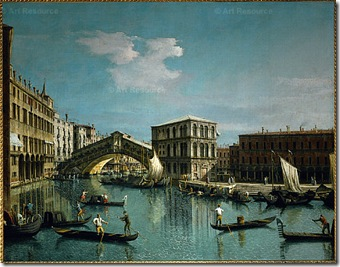 Canaletto Rialto Bridge