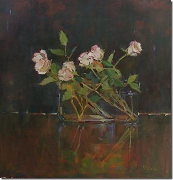 40 x 40 Night Roses 3950
