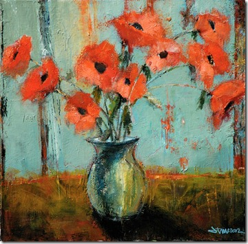 Poppies 48 x 48 low res