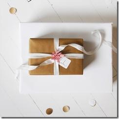 christmas ribbon and wrap