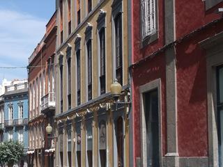 Vakre gamle bygninger i Las Palmas